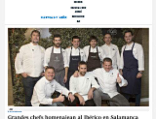 Grandes chefs homenajean al ibérico en Salamanca