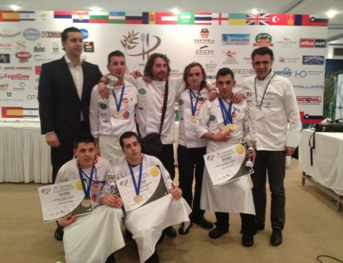 Gold, Gold and Gold: Spain swept to victory at the WACS (World Association of Chefs Societies) 8th International Culinary Competition of Southern Europe