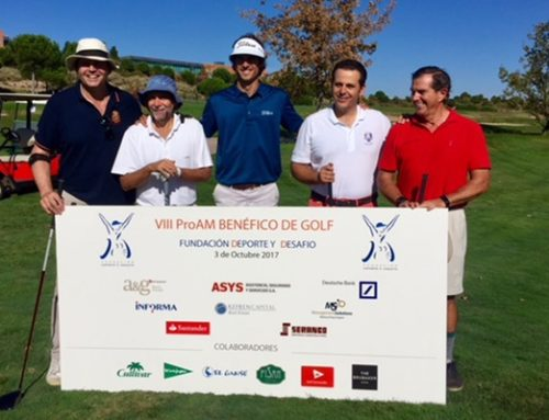 FISAN at the Charity PROAM of the Sports and Challenge Foundation. (Fundación Deporte y Desafío)