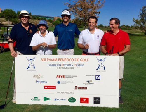"""FISAN nel torneo PROAM di beneficienza della Fondazione """"Deporte y Desafío"""""""