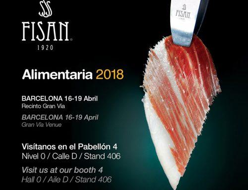 Fisan en Alimentaria 2018, una cita gastronómica imprescindible