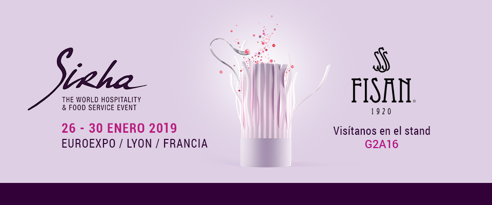 FISAN in SIRHA Lyon 2019