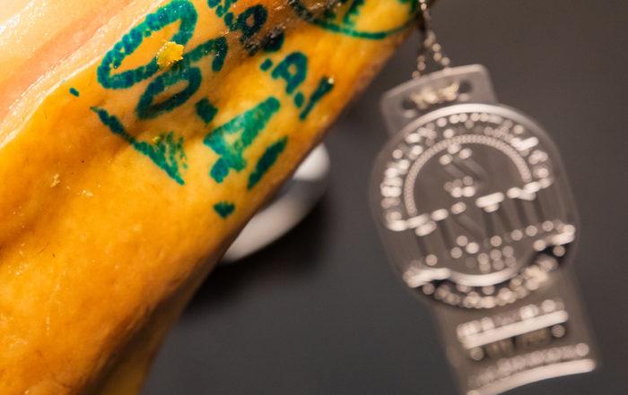sello mapa jamón de bellota