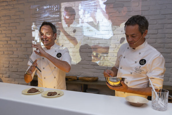 Hermanos Torres cocina de Vida&Comida Xperiences