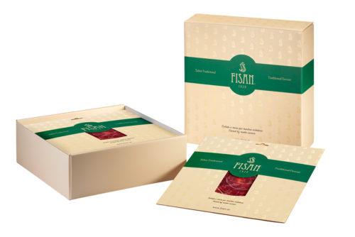 Pack Regalo 10 sobres jamon de bellota sabor tradicional